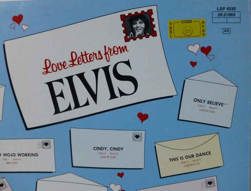 LOVE LETTERS FROM ELVIS 1b29