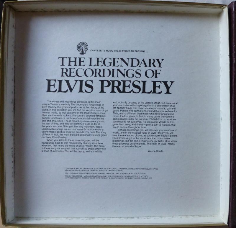THE LEGENDARY RECORDINGS OF ELVIS PRESLEY 1b35