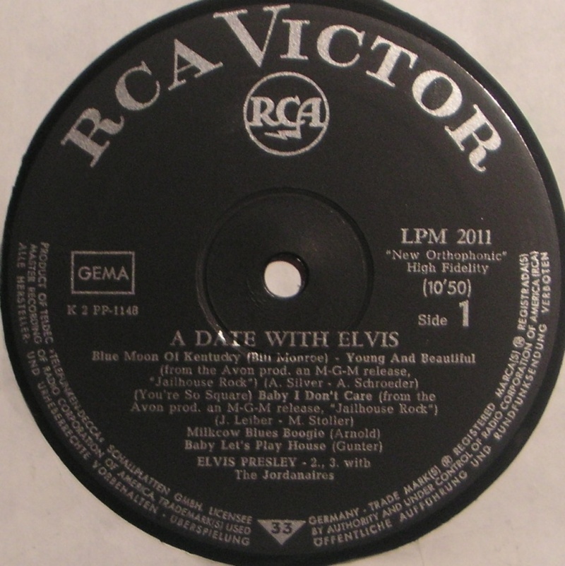 A DATE WITH ELVIS 1c11