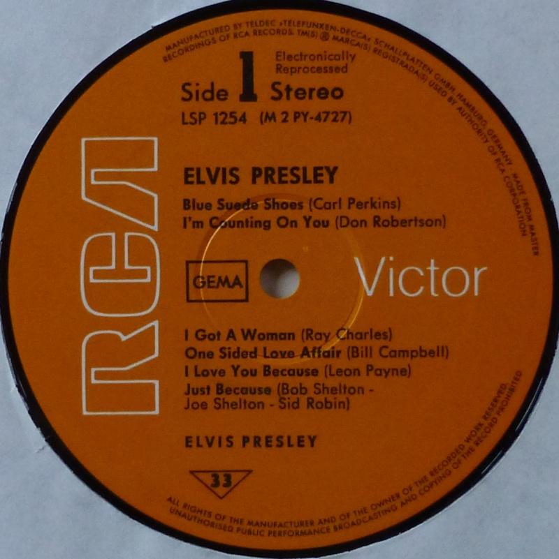 ELVIS PRESLEY 1d20