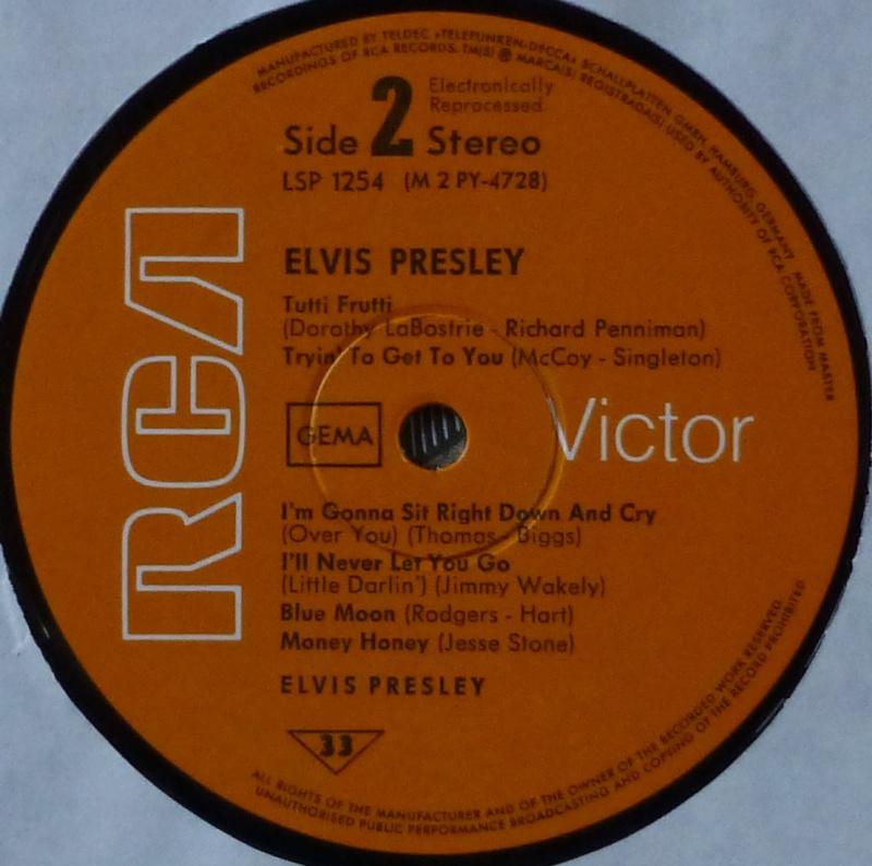 ELVIS PRESLEY 1e17
