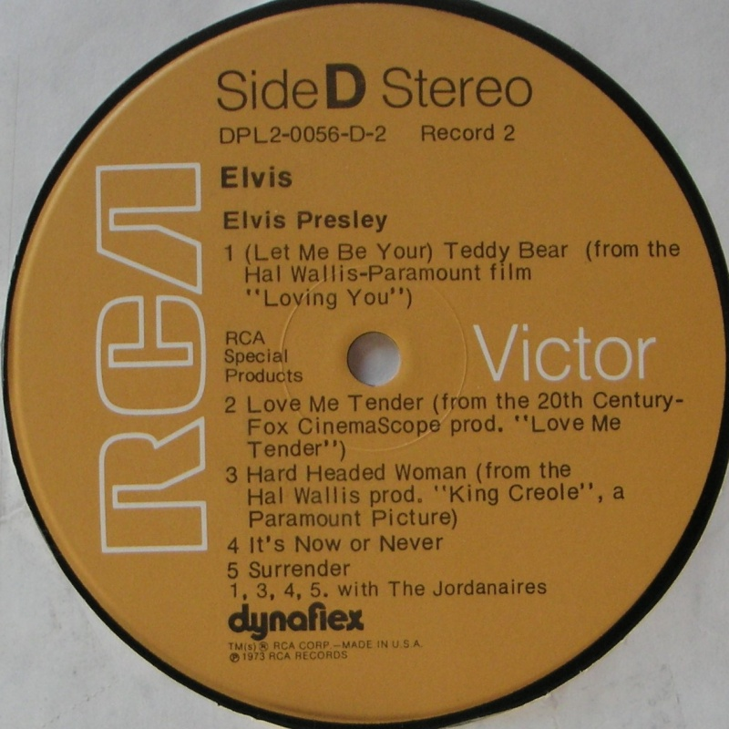 ELVIS SPECIAL PRODUCTS ON TV / ELVIS COMMEMORATIVE ALBUM 1g12