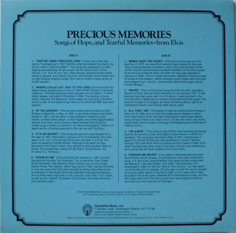 THE LEGENDARY RECORDINGS OF ELVIS PRESLEY 1g17