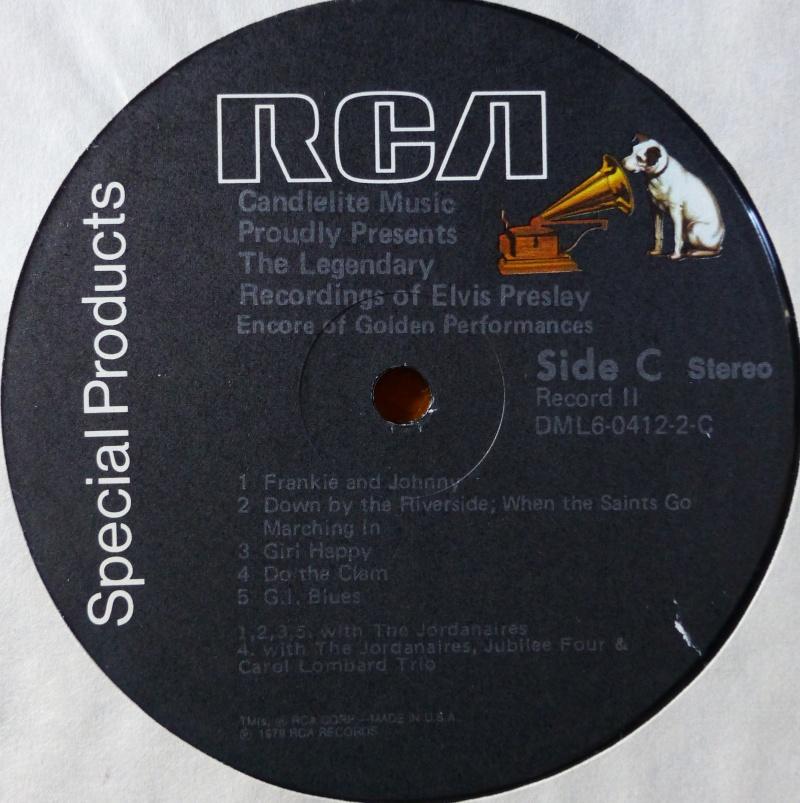 THE LEGENDARY RECORDINGS OF ELVIS PRESLEY 2d16