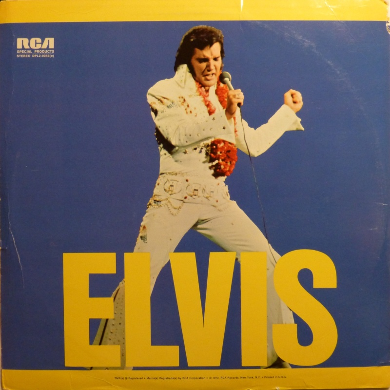 ELVIS SPECIAL PRODUCTS ON TV / ELVIS COMMEMORATIVE ALBUM 3a11