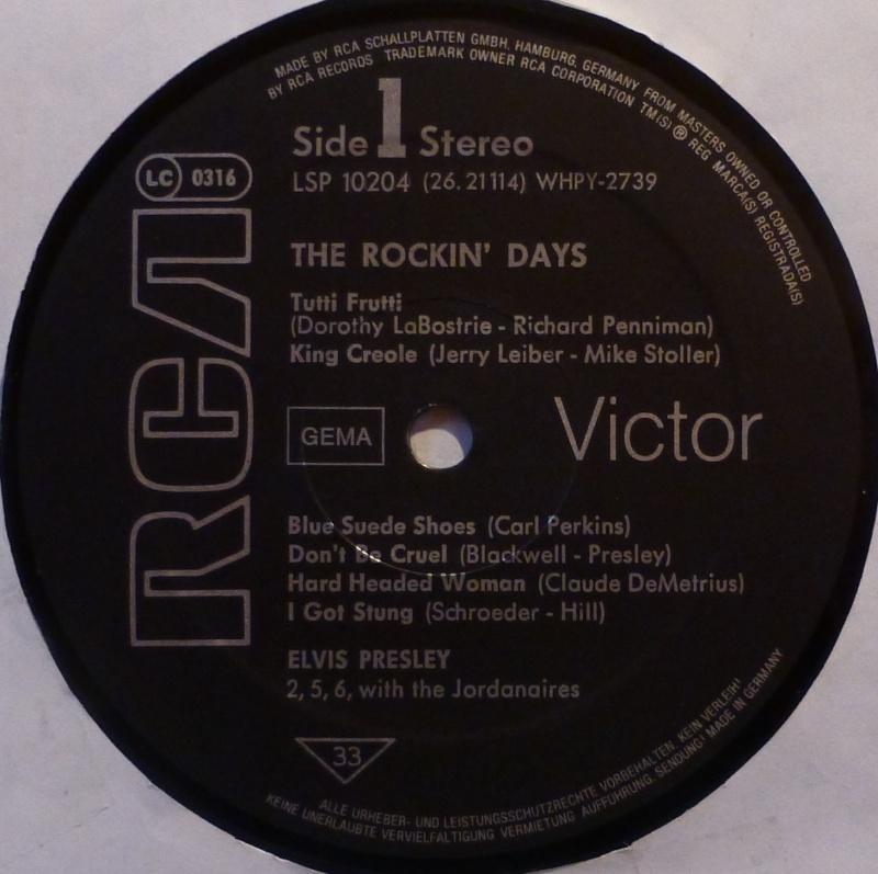 THE ROCKIN' DAYS 3b10