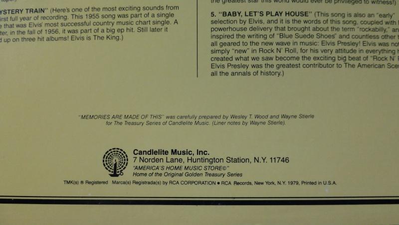 THE LEGENDARY RECORDINGS OF ELVIS PRESLEY 3b11