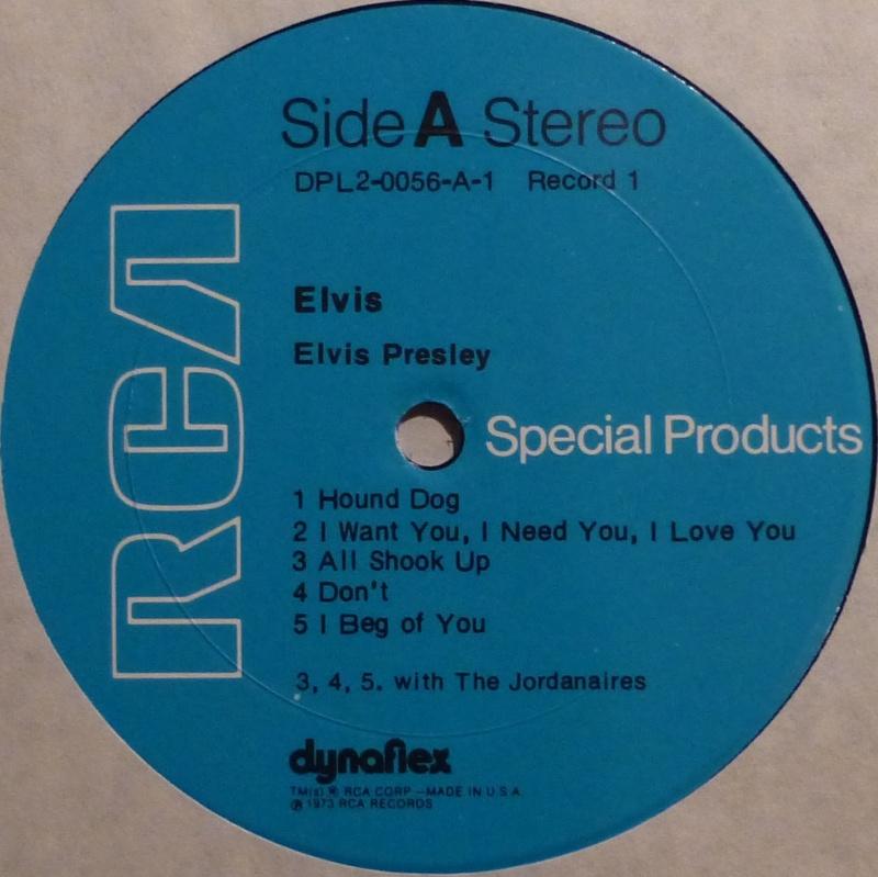 ELVIS SPECIAL PRODUCTS ON TV / ELVIS COMMEMORATIVE ALBUM 3b_kei10