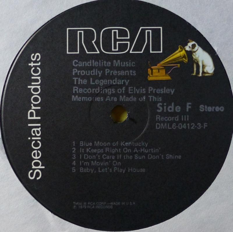 THE LEGENDARY RECORDINGS OF ELVIS PRESLEY 3d11