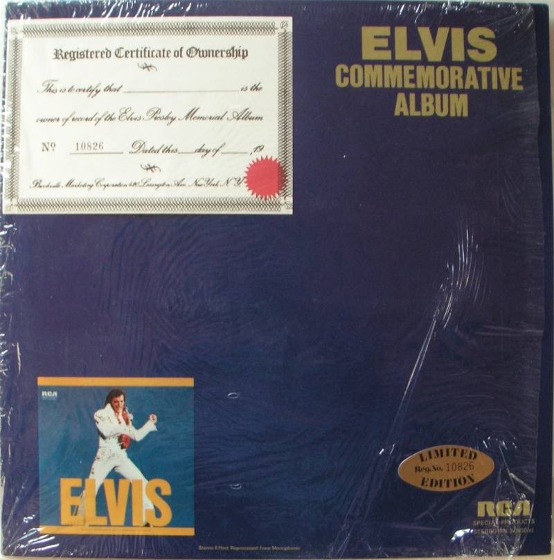 ELVIS SPECIAL PRODUCTS ON TV / ELVIS COMMEMORATIVE ALBUM 4_10