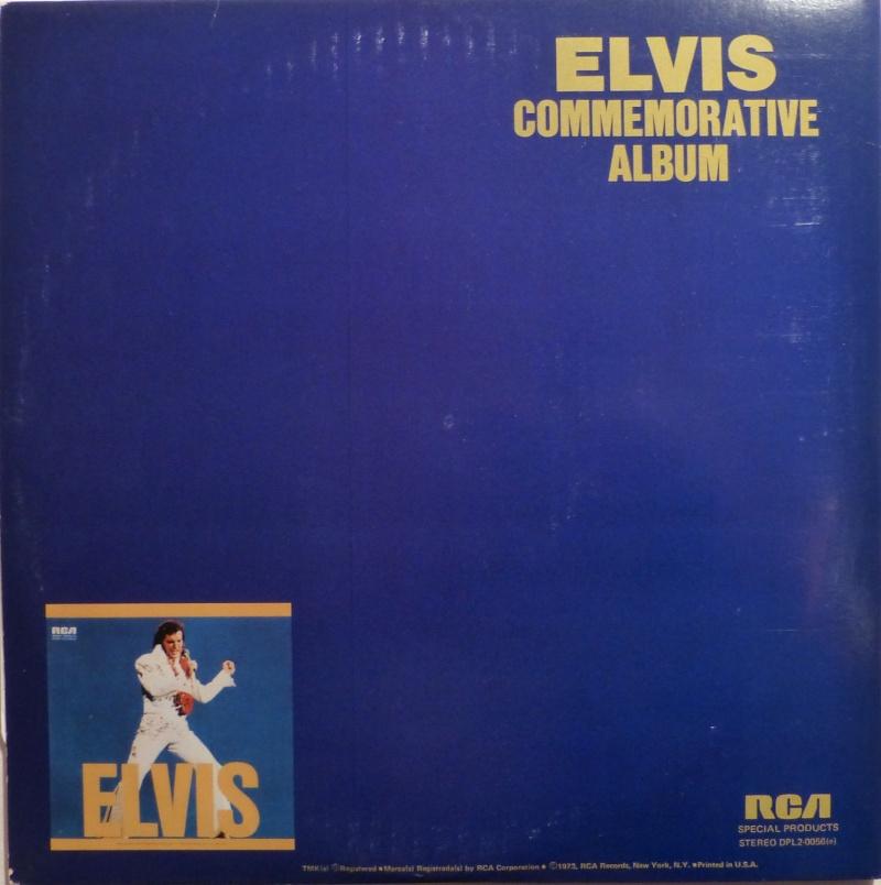 ELVIS SPECIAL PRODUCTS ON TV / ELVIS COMMEMORATIVE ALBUM 4c10
