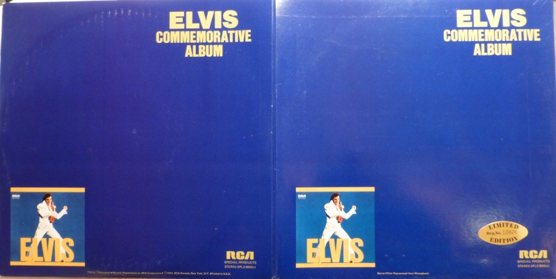 ELVIS SPECIAL PRODUCTS ON TV / ELVIS COMMEMORATIVE ALBUM 4d10