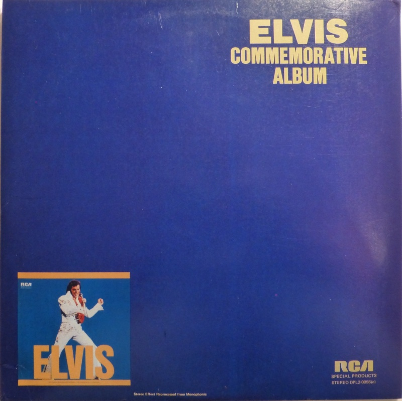 ELVIS SPECIAL PRODUCTS ON TV / ELVIS COMMEMORATIVE ALBUM 510