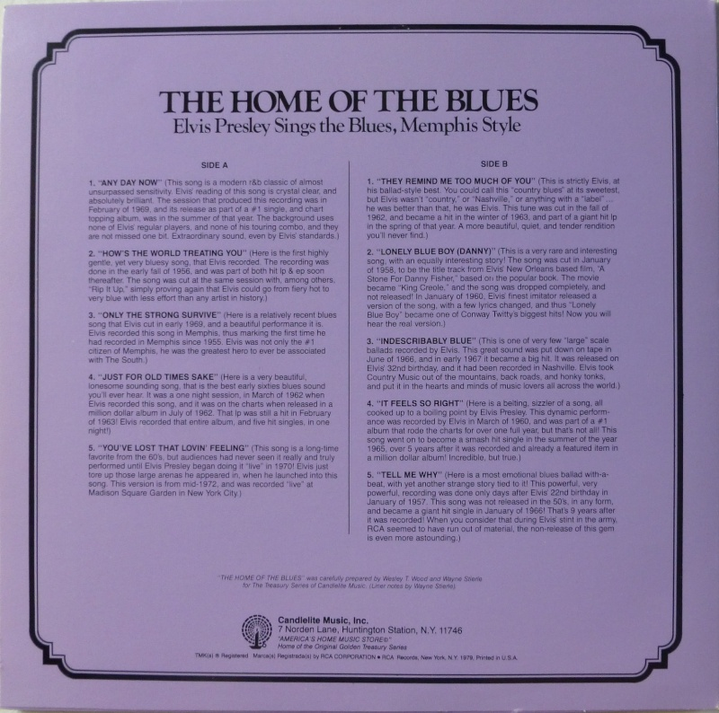 THE LEGENDARY RECORDINGS OF ELVIS PRESLEY 5a14