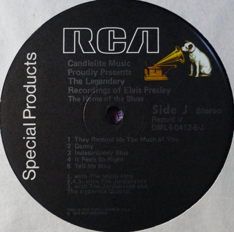 THE LEGENDARY RECORDINGS OF ELVIS PRESLEY 5d12
