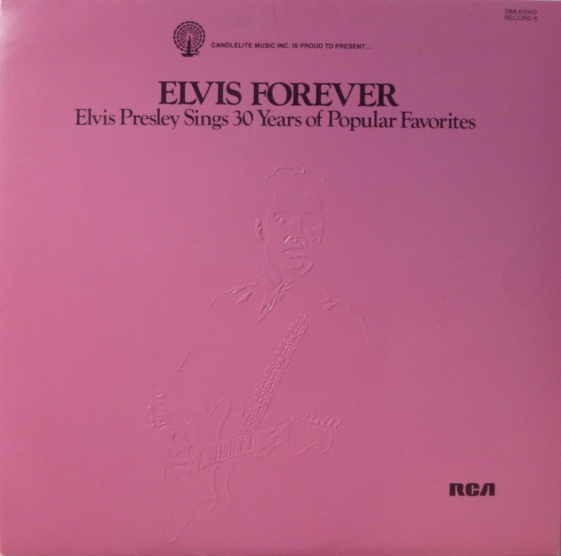 THE LEGENDARY RECORDINGS OF ELVIS PRESLEY 610