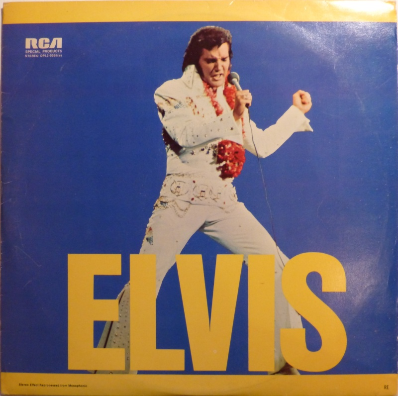 ELVIS SPECIAL PRODUCTS ON TV / ELVIS COMMEMORATIVE ALBUM P1000012
