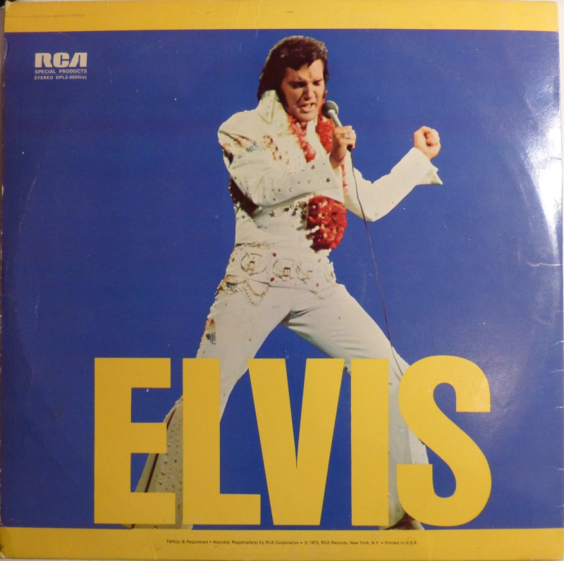 ELVIS SPECIAL PRODUCTS ON TV / ELVIS COMMEMORATIVE ALBUM P1000013