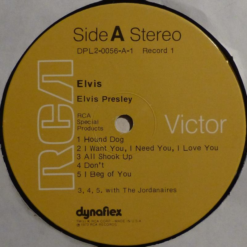 ELVIS SPECIAL PRODUCTS ON TV / ELVIS COMMEMORATIVE ALBUM P1000015