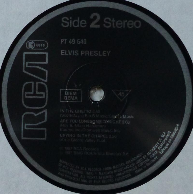ELVIS PRESLEY P1000330