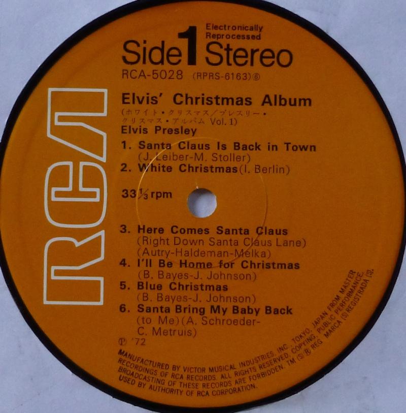 ELVIS' CHRISTMAS ALBUM P1000415