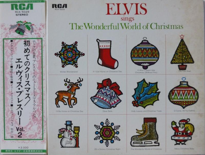 ELVIS SINGS THE WONDERFUL WORLD OF CHRISTMAS P1000419