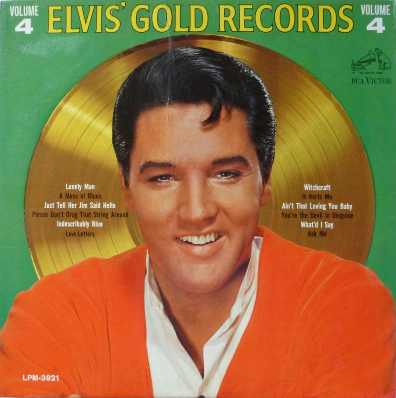 ELVIS' GOLD RECORDS VOL 4 P1000427