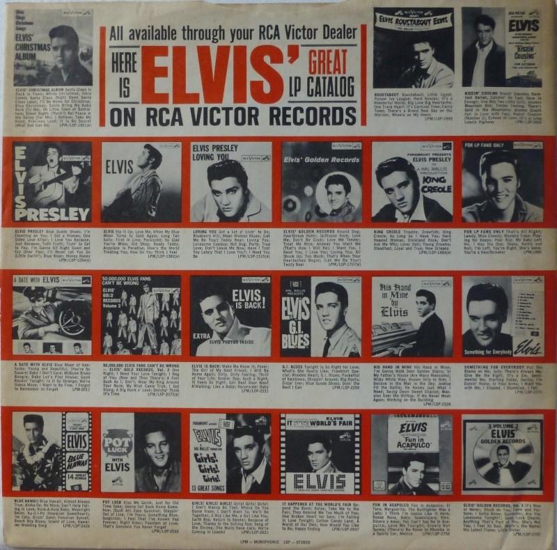 ELVIS' GOLD RECORDS VOL 4 P1000429