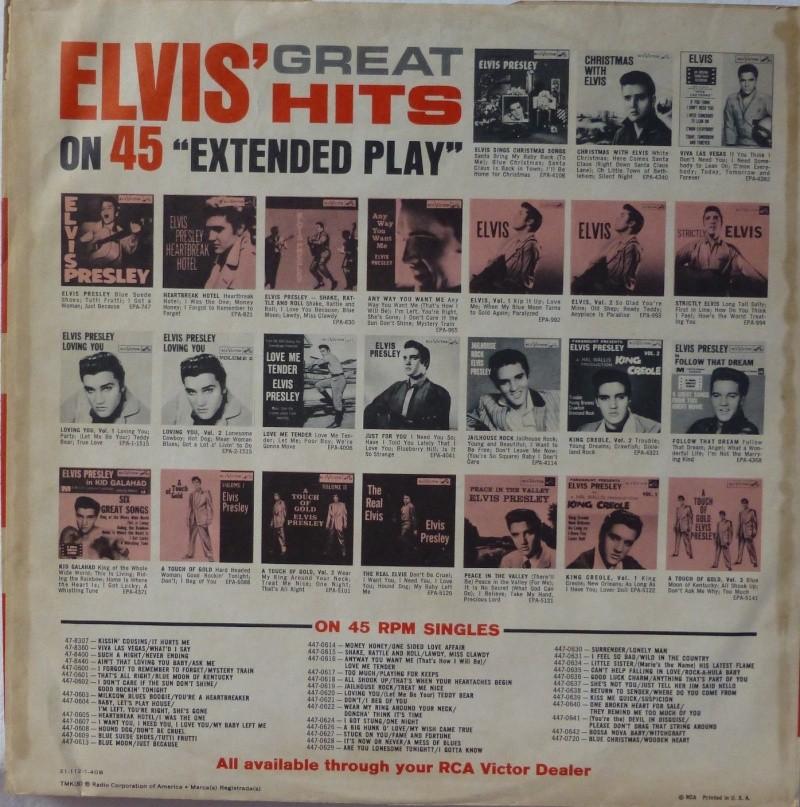 ELVIS' GOLD RECORDS VOL 4 P1000430