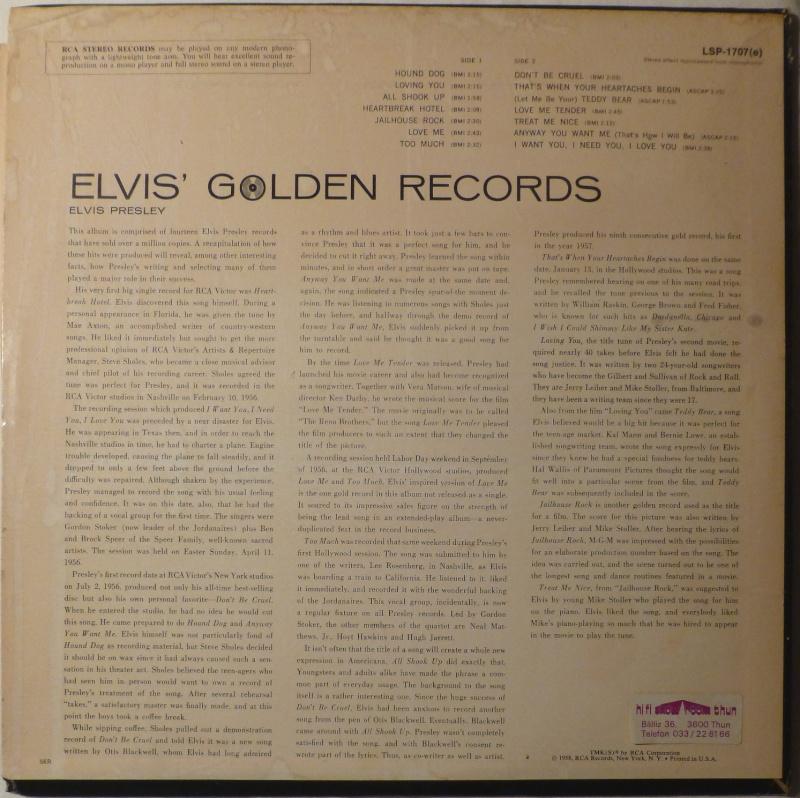 ELVIS' GOLD RECORDS  P1000510