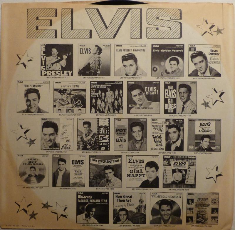 ELVIS' GOLD RECORDS  P1000511