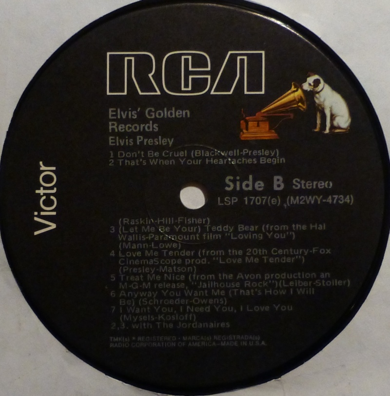 ELVIS' GOLD RECORDS  P1000514