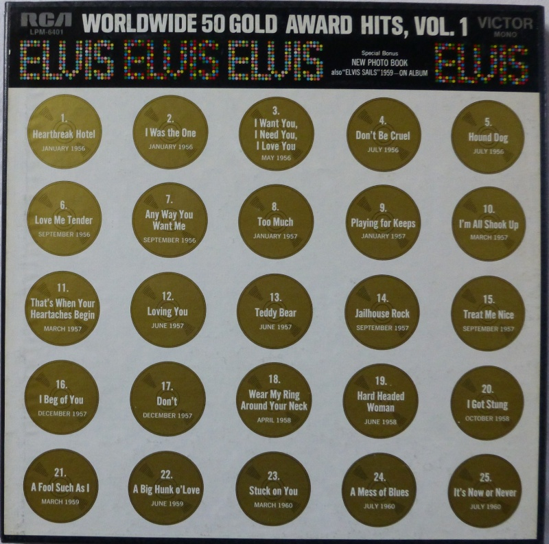 WORLDWIDE 50 GOLD AWARD HITS, VOL. 1 P1000515