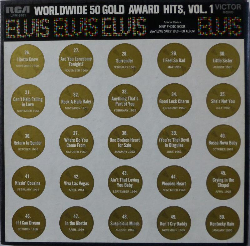 WORLDWIDE 50 GOLD AWARD HITS, VOL. 1 P1000517