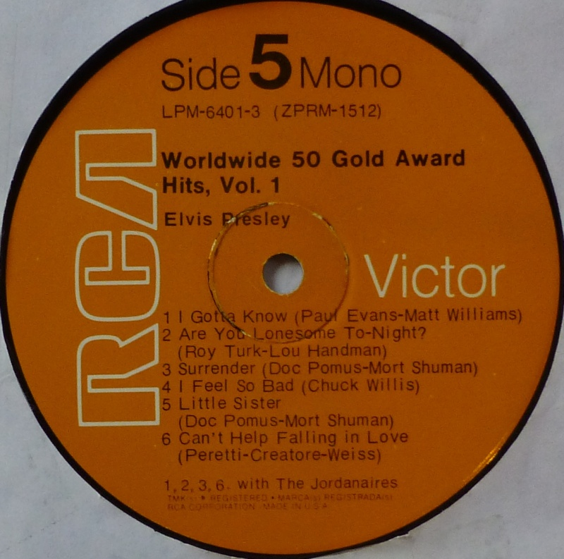 WORLDWIDE 50 GOLD AWARD HITS, VOL. 1 P1000529