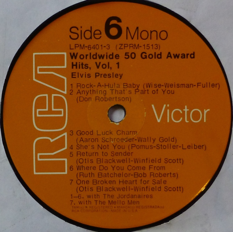WORLDWIDE 50 GOLD AWARD HITS, VOL. 1 P1000530