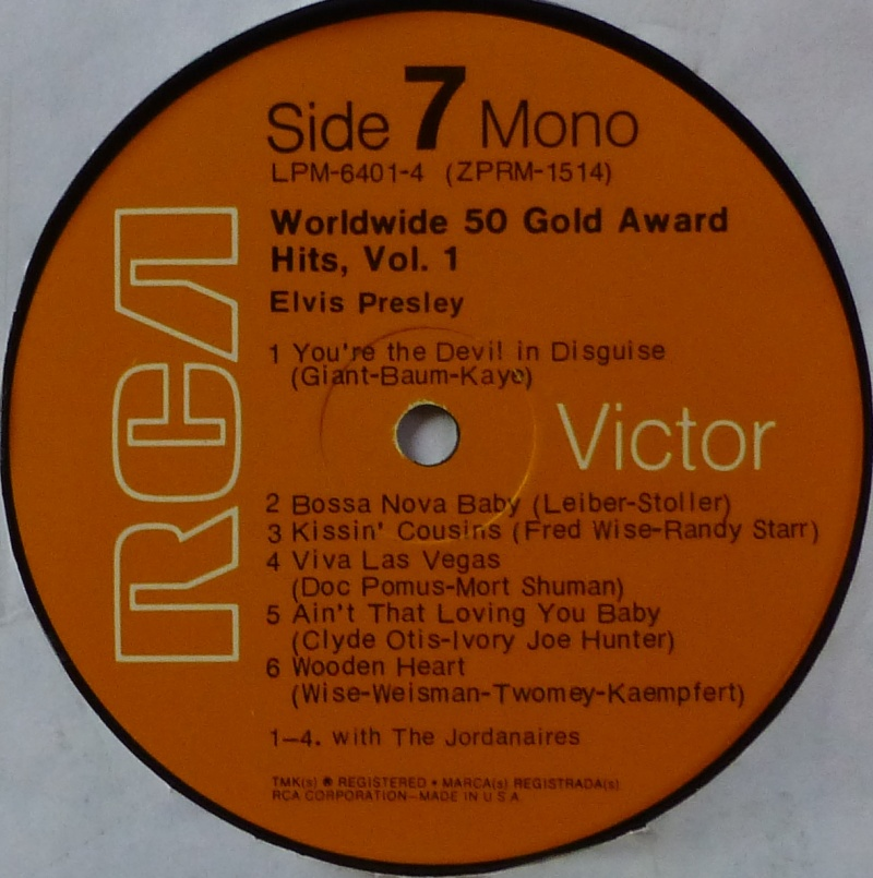 WORLDWIDE 50 GOLD AWARD HITS, VOL. 1 P1000533