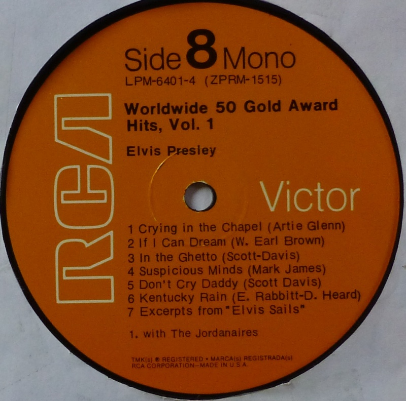 WORLDWIDE 50 GOLD AWARD HITS, VOL. 1 P1000534