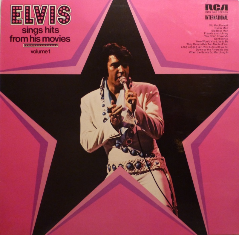 ELVIS SINGS HITS FROM HIS MOVIES-VOLUME 1 P1010221