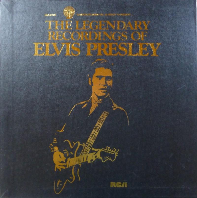 THE LEGENDARY RECORDINGS OF ELVIS PRESLEY P1010810