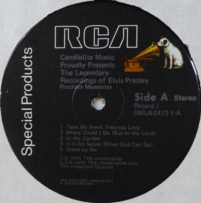 THE LEGENDARY RECORDINGS OF ELVIS PRESLEY P1010815