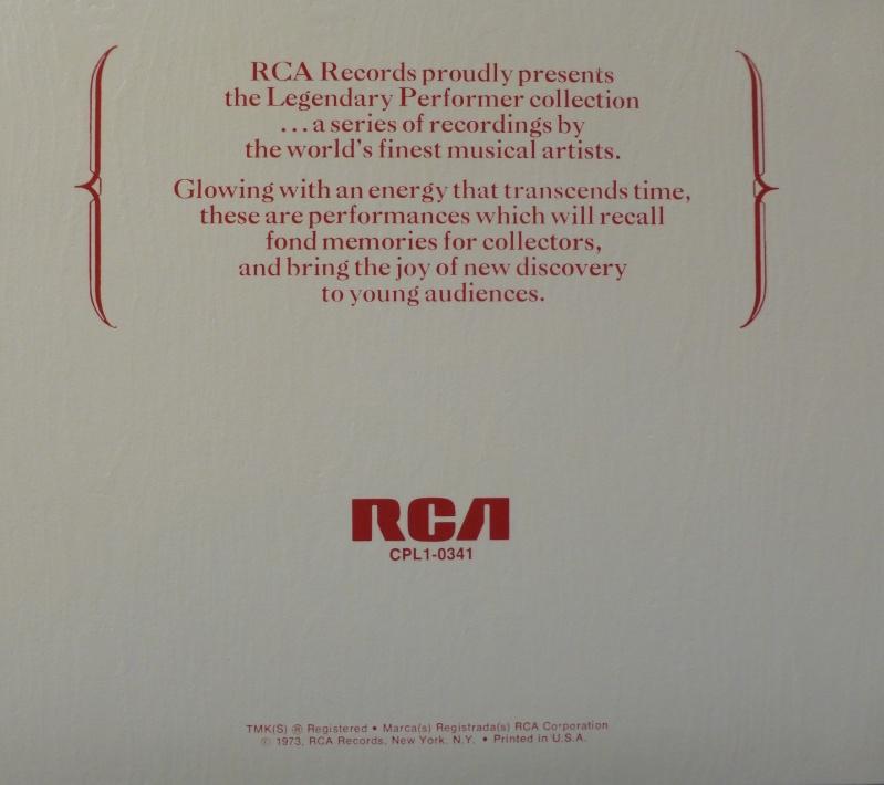 A LEGENDARY PERFORMER - VOLUME 1 P1020712