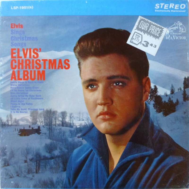 ELVIS' CHRISTMAS ALBUM P1020721
