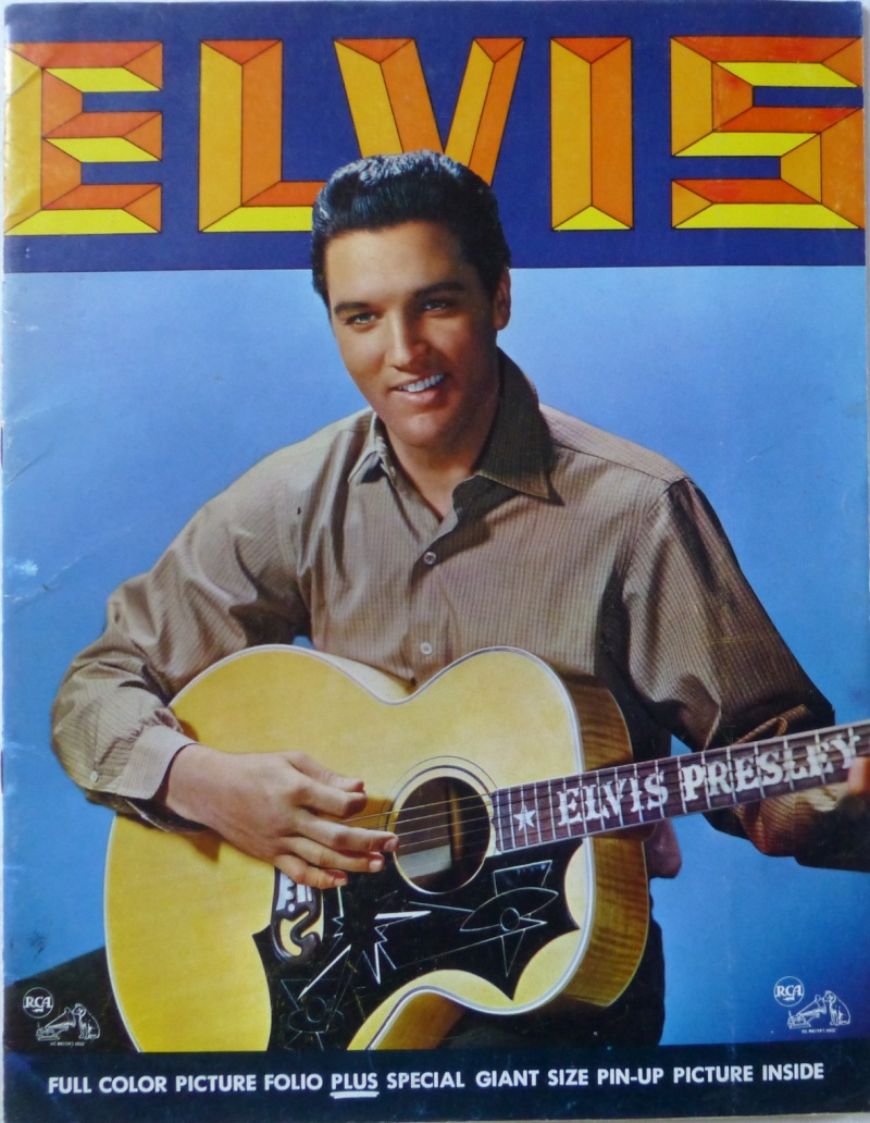 ELVIS' GOLD RECORDS VOL 3 P1020825