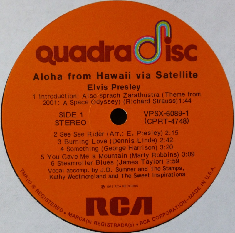 Hawaii - ALOHA FROM HAWAII VIA SATELLITE  P1020913