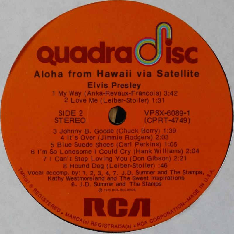 Hawaii - ALOHA FROM HAWAII VIA SATELLITE  P1020914