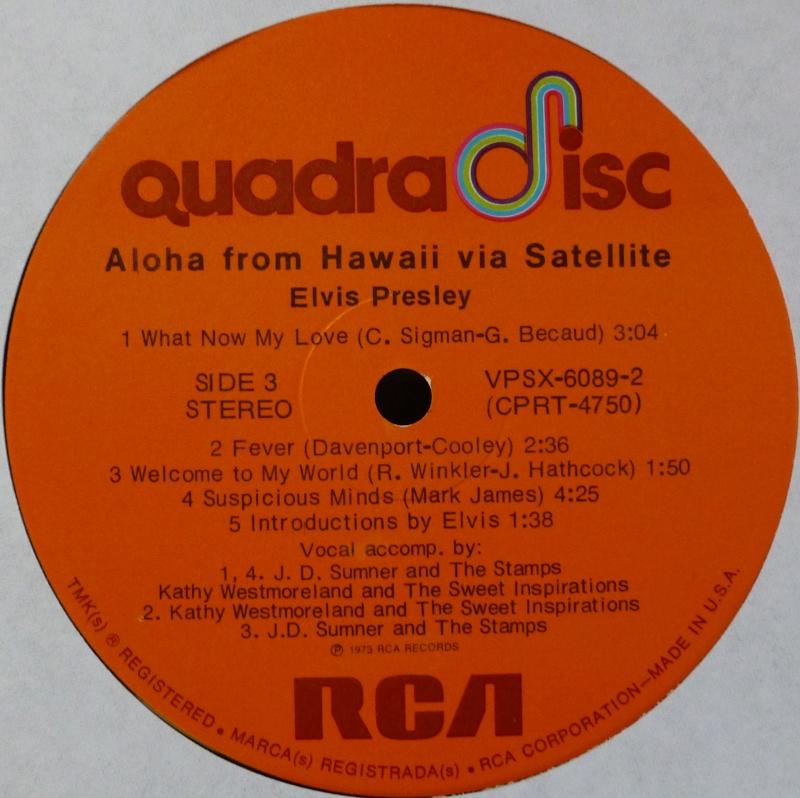 Hawaii - ALOHA FROM HAWAII VIA SATELLITE  P1020915