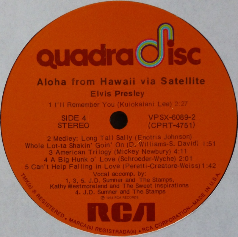 Hawaii - ALOHA FROM HAWAII VIA SATELLITE  P1020916