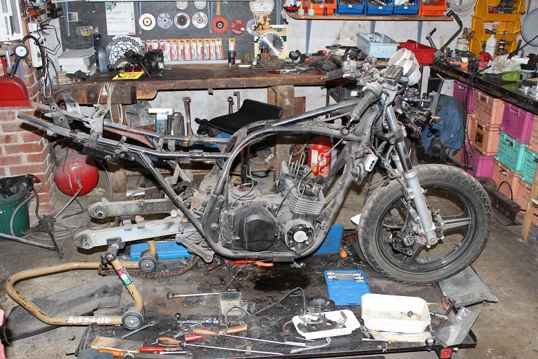 Prépa Kawa 750 GPZ 83 pour la Vitesse en Moto Ancienne 01_img12