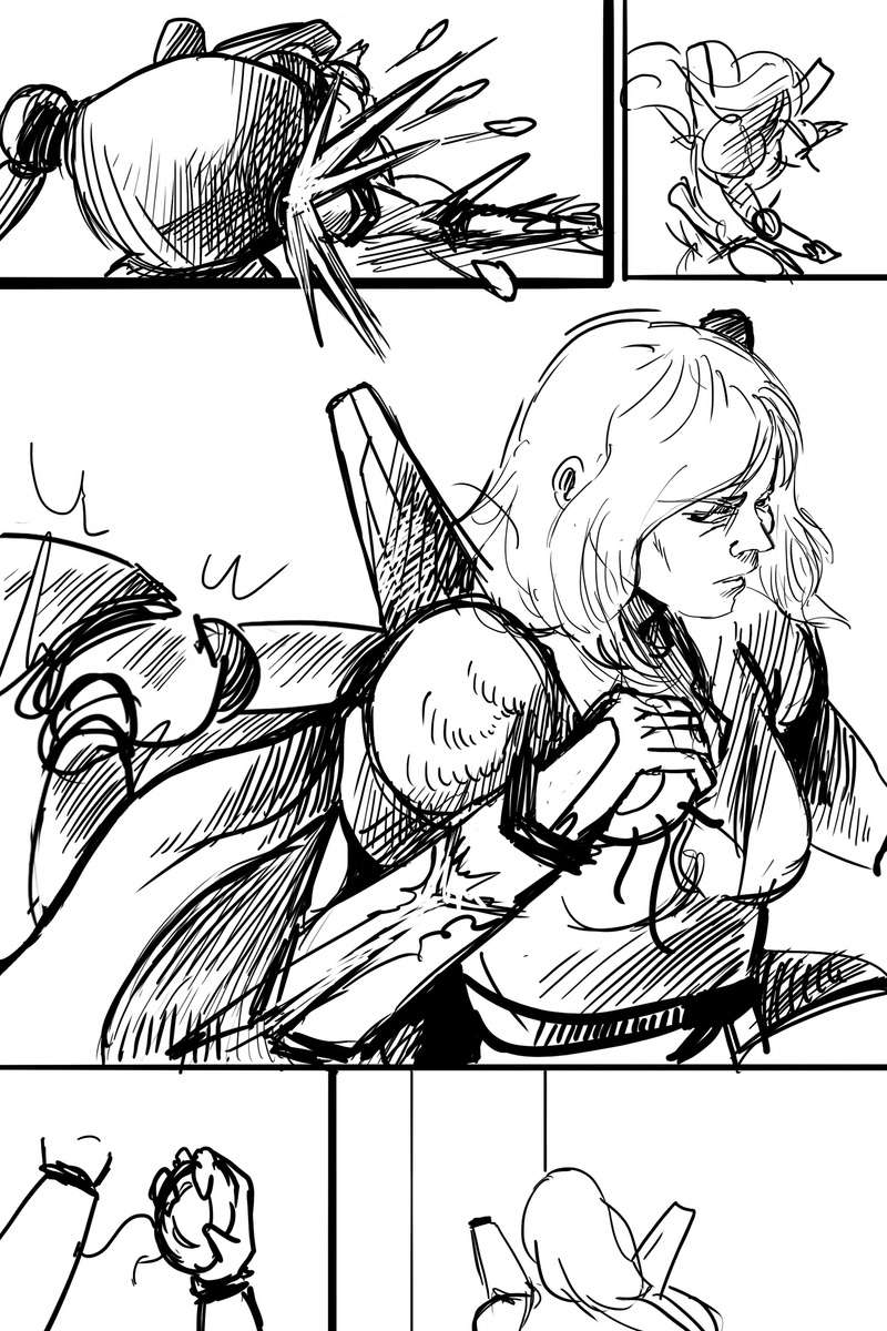 Quelque dessin et planche de bd Page_810